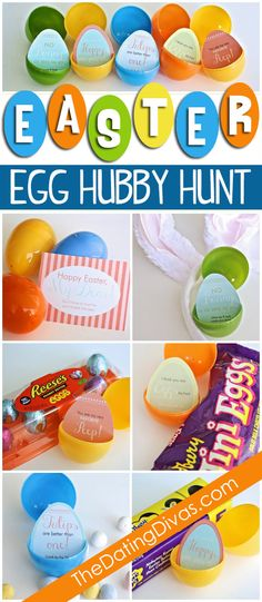 This is so fun!  Make your man hunt for his Easter Basket.  Includes all of the Easter Egg Hunt clues and printables as a free download too. www.TheDatingDivas.com