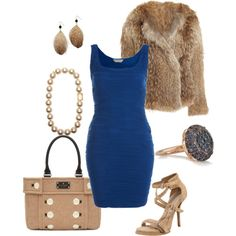 Fun with Polyvore.com....a little blue