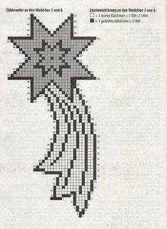REGINA RECEITAS DE CROCHE E AFINS: NATAL. Crochet Christmas Decorations, Homemade Christmas Decorations, Crochet Decoration, Crochet Thread Patterns, Crochet Stitches, Cross Stitch Patterns, Christmas Nativity, Christmas Cross, Christmas Ornaments