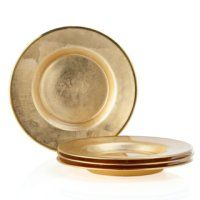 Paramount Dinnerware - Sets of 4 - Salad Plate - Set of 4 by Z Gallerie Dining Room Decor Elegant, Dinners To Make, Living Room Accents, Glam Room, Dinner Sets, Dinner Ware, Glass Votive, Dining Room Inspiration, Coaster Furniture