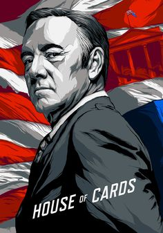On the Creative Market Blog - From Blood to BBQ: 14 Outstanding House Of Cards Fan Art Pieces