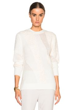 Image 1 of 3.1 phillip lim Multi Textured Sweater in Ivory