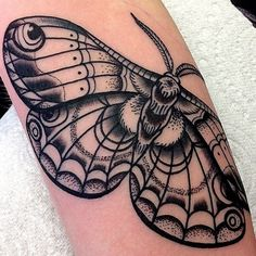 "Butterfly tattoo by Ricky Williams at ""thefamilybusinesstattoo"" (UK) - arm tattoo"
