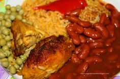 Arroz con Pollo (Puerto Rican Chicken with Rice) | Hispanic Kitchen