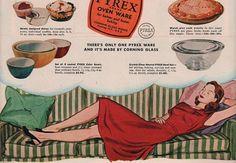 Vintage Pyrex Dishes 1947 Advertisement