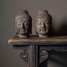 Handcarved Stone Buddha
