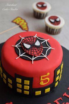 Spider-Man Cake … Más