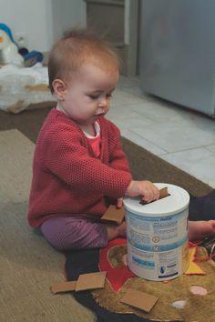 Prune & Violette: Activités Montessori simples bébé 1 an