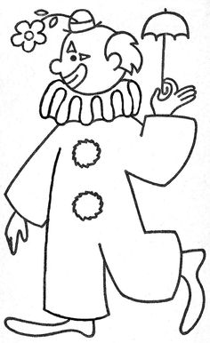 Color Us Projects For Kids, Art Projects, Crafts For Kids, Circus Activities, Vintage Coloring Books, Send In The Clowns, Wood Burning Patterns, Mandala Coloring Pages, Circus Theme