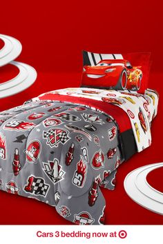 After a fun day of getting your adrenaline racing, it's time to rest up and dream big. Drift off to sleep in some high-quality Cars 3 bedding sets, now available at Target.