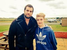 Henry Cavill News: Henry On The Set Of 'The Man from U.N.C.L.E.' Photo Shoot!