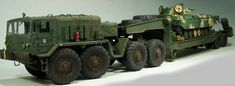 MAZ Tank Transporter by Detlef Frohlich (Trumpeter Transporter 1, M109, Military Modelling, Urban Survival, Model Ships, Armored Vehicles, Model Building, Skin So Soft, Heavy Equipment