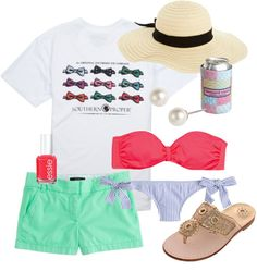 """""""Spring Break-ing"""" by classically-preppy on Polyvore"""
