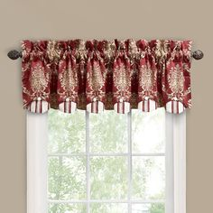 Waverly 10978080X015MER Rose Momento 80-Inch by 15-Inch Window Valance, Merlot >>> To view further for this item, visit the image link. (This is an affiliate link and I receive a commission for the sales)