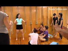 ▶ Adho Mukha Vrksasana with Lois Steinberg, Ph.D. Certified Iyengar Yoga Teacher Advanced 2 - YouTube