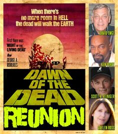 Dawn of The Dead Cast Reunion 2013 - Flashback Weekend