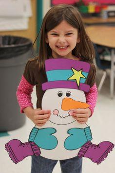 Kindergarten Smiles: Snowman Craft