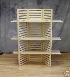 Display Shelf Portable With 3 Shelves | eBay