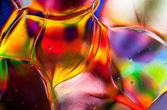 Blown glass glass