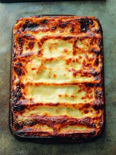 Lasagne • Free tutorial with pictures on how to cook a lasagna in under 120 minutes