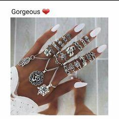 I like rings, a lot
