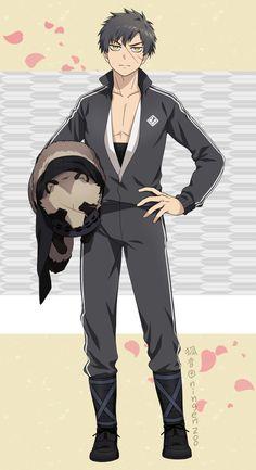 Doutanuki Sayo Game Character, Character Design, Anime Child, Illustration Sketches, Manga Games, Manga Comics, Touken Ranbu, Anime Guys, Character Inspiration