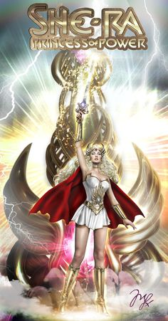 She-ra by MLauNeim.deviantart.com on @deviantART