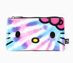 Hello Kitty Pouch: Tie-Dye