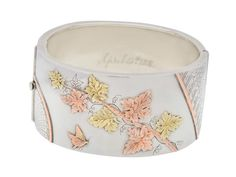 Aesthetic Silver Bangle Bracelet of 1881 - The Three Graces
