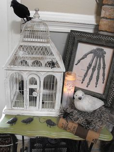 Great Halloween decorating ideas!