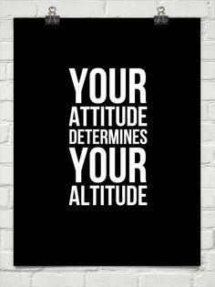 your attitude determines your altitude - Google Search