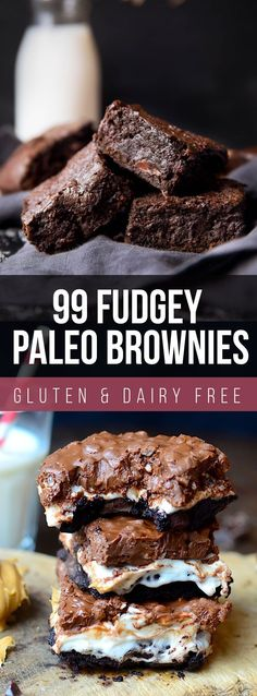 These 99 Fudgy Paleo Brownie Recipes are to die for. They are 100% Paleo and 100% delicious! Great for the family any time of the year!