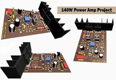 140W Power Amplifier Circuit