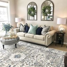 best cozy farmhouse living room decor ideas 12 ~ my.me best cozy farmhouse living room d. Formal Living Rooms, Modern Living, Minimalist Living, Modern Sofa, Natural Living, Living Spaces, My New Room, Home And Living, Small Living