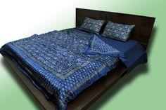Code 108 - Pashmina Duvet, linen fitted sheet and pillows set, QR2000