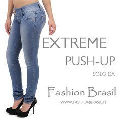 Jeans push-up brasiliani i jeans che modellano perfettamente il lato B www.fashionbrasil.it