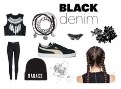 """""""#1"""" by flaviashkreta on Polyvore featuring WithChic and Puma"""