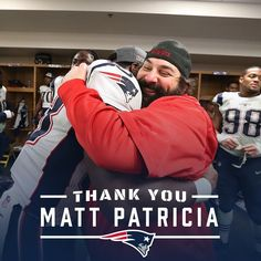 """Soooo Exciting #Detroit Lions 46.4k Likes, 602 Comments - New England Patriots (@patriots) on Instagram: """"Thank you, Matty P!"""""""