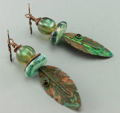Rustic Earrings Boho Earrings Rustic Boho by ChrisKaitlynJewelry
