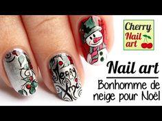 Nail art noel bonhomme de neige - YouTube Cherry Nail Art, Nail Art Noel, Class Ring, Nailart, Christmas, Winter, Xmas, Weihnachten, Yule
