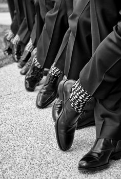 Groomsmen shoe shot. Photography: Moreland Photography - morelandphoto.com/ Read More: http://www.stylemepretty.com/2014/06/27/elegant-atlanta-ballroom-wedding/