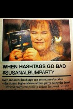 When hash tags go bad...