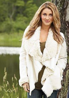 Cascade Faux Shearling at Alloy