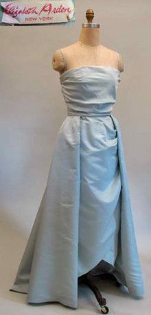 1950s Elizabeth Arden silk gown  - Courtesy of pastperfectvintage.com