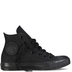 Chuck Taylor Classic Colors black monochrome size 5.5