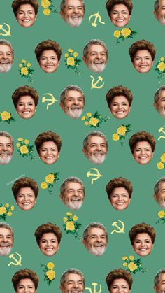 WALLPAPERS - Dilma & Lula - @GabrielRLarrieu - Album on Imgur