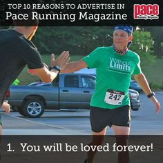 Top 10 Reasons to Advertise in Pace Running Magazine! Pace Running, Running Magazine, Advertising, Sporty, Top, Crop Shirt, Shirts