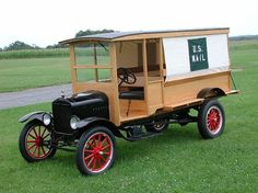 1927 Ford model TT US mail delivery truck