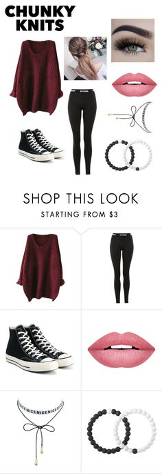 """""""Untitled #149"""" by strangelifexox ❤ liked on Polyvore featuring Ivy Park, Converse, Forever 21 and Lokai"""