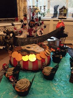 Yo ho ahoy this cake was made by myself for my grandsons birthday x